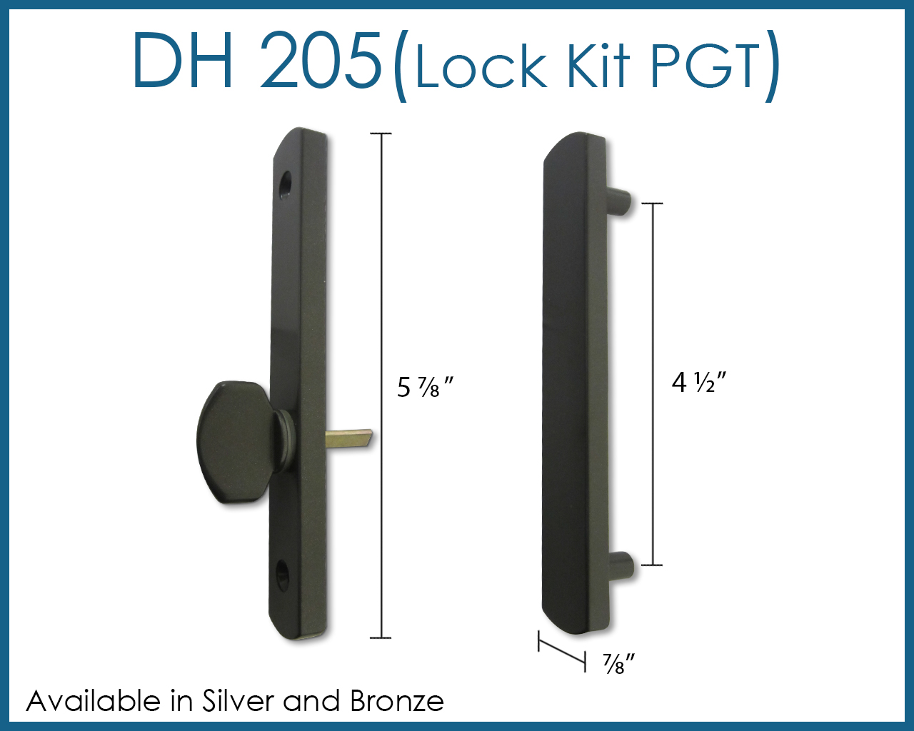 Sliding Glass Doors Window Parts Warehouse Pgt Handle Lock Kit