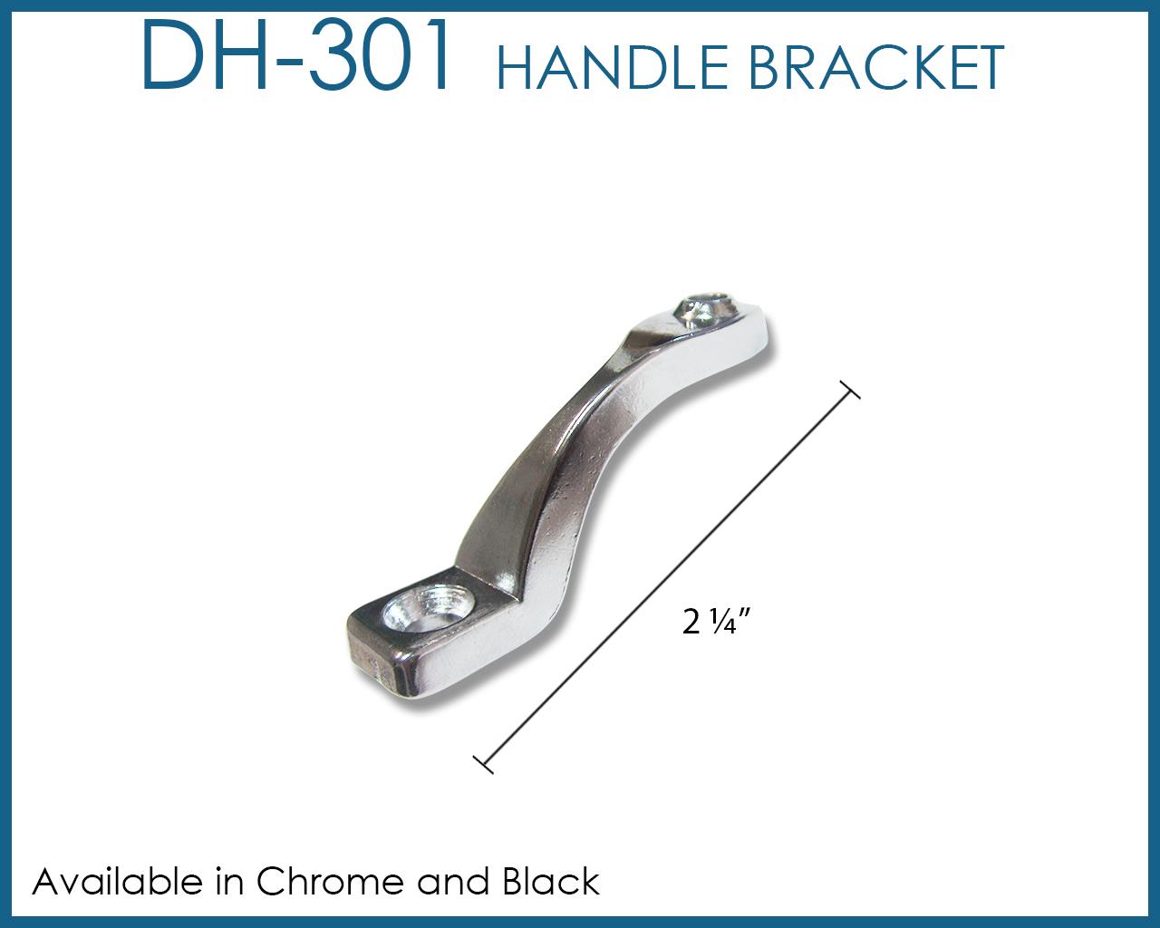 Wood Handle Brackets For Sliding Glass Doors Image